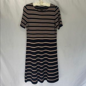 Ann Taylor Factory Striped Dress XL NWT